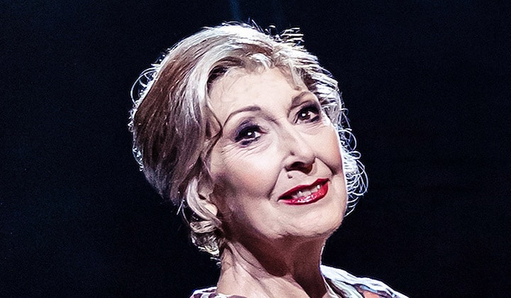 Anita Harris in Cabaret as Fraulein Schneider.