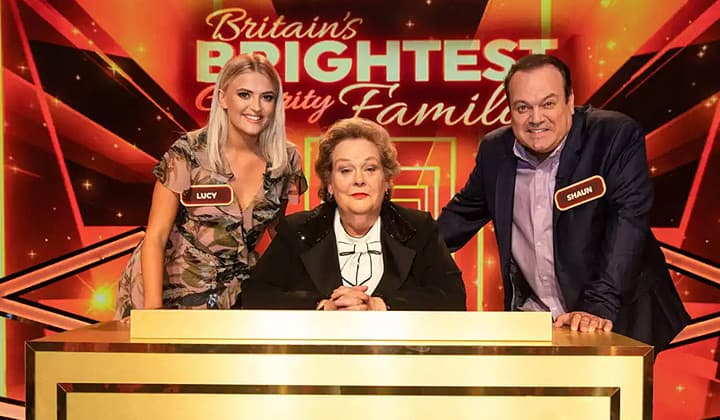 Anne Hegerty Britains Brightest Celebrity Family